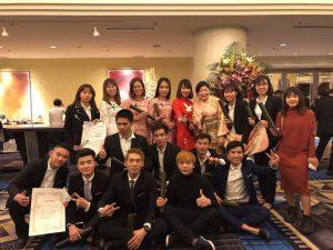 Lễ tốt nghiệp trường tiếng của Triệu Giang