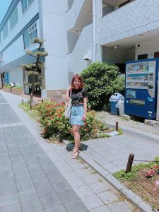 Triệu Giang tại Nhật Bản