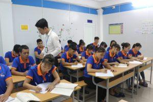 Ảnh lớp học tại Công ty Phúc Thái