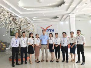 Đội ngũ cán bộ công nhân viên Phúc Thái