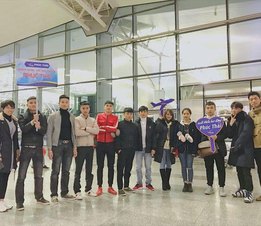 Lễ tiễn bay Du học sinh Hàn Quốc tháng 12/2018