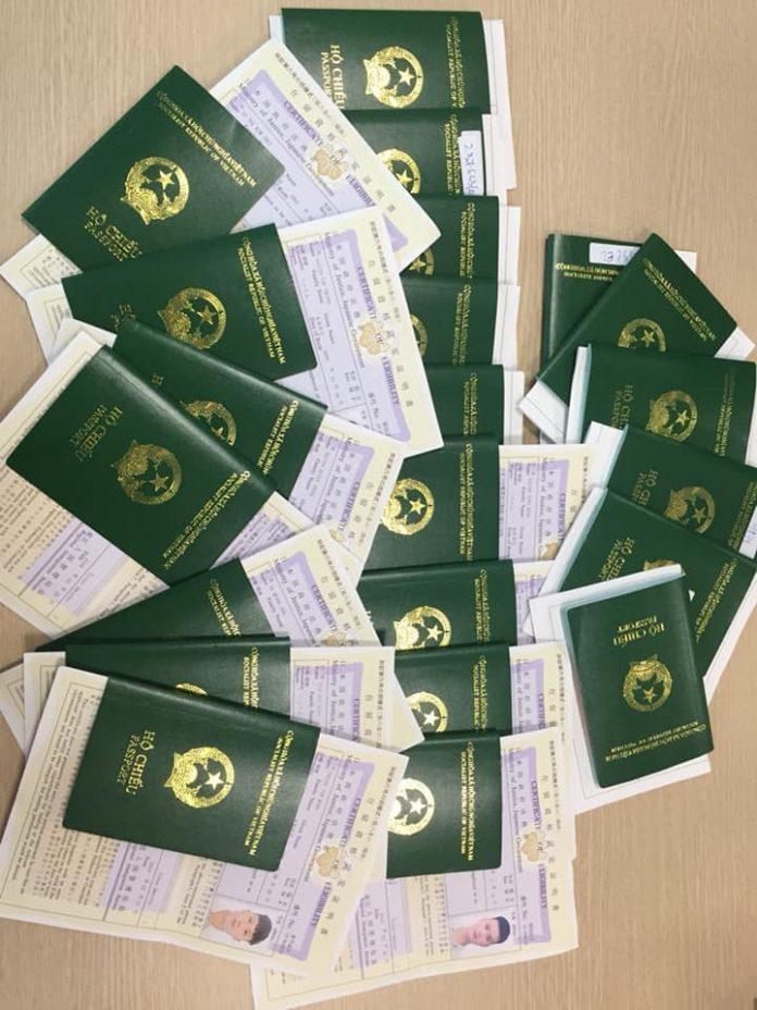 Visa học viên Phúc Thái bay lần 1 kỳ tháng 4/2019