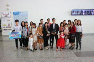 Nhóm học sinh trường Kasuga Japanese Language School